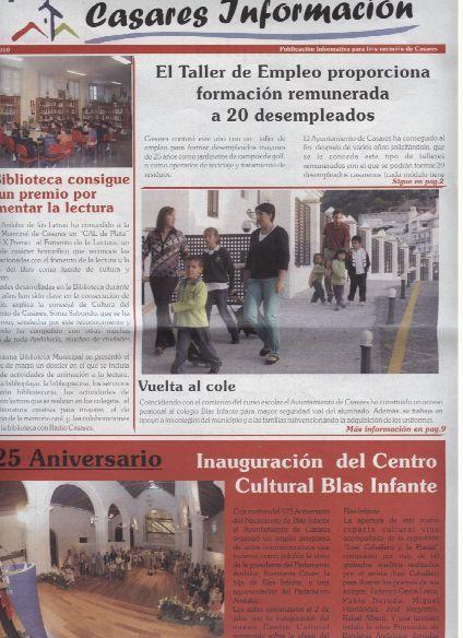 Casares Información en el blog de la biblioca.