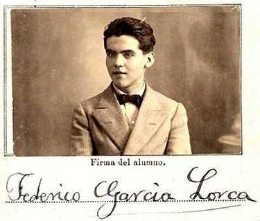 Federico García Lorca en el Día de Andalucía